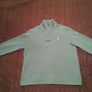 Polo Ralph Lauren fleece type sweater/long sleeve